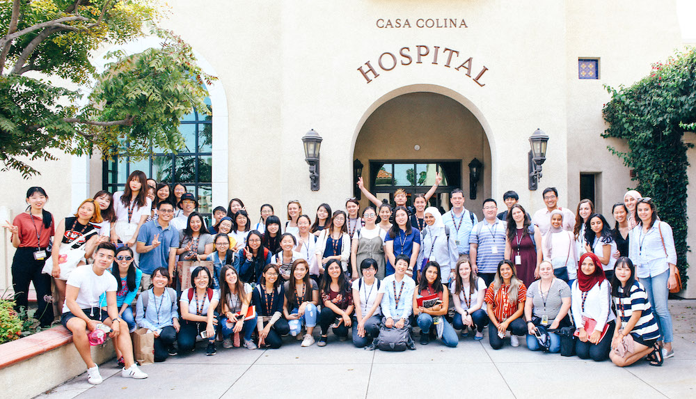2018 SOTI class at Casa Colina Hospital
