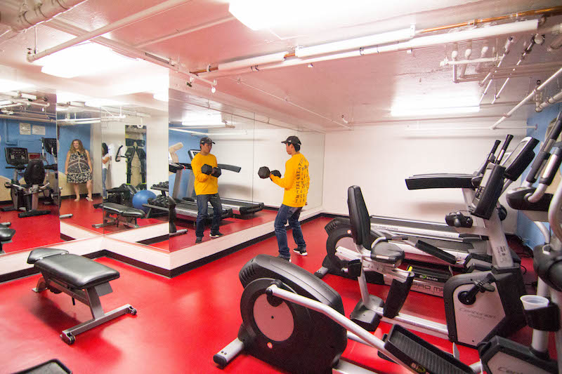 Gym in OT House
