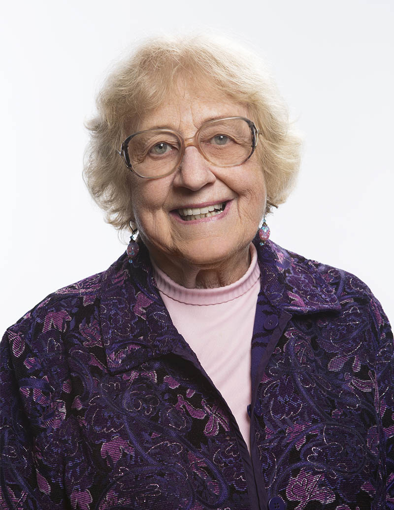 Dottie Ecker '57, MA '69 | Photo by Nate Jensen