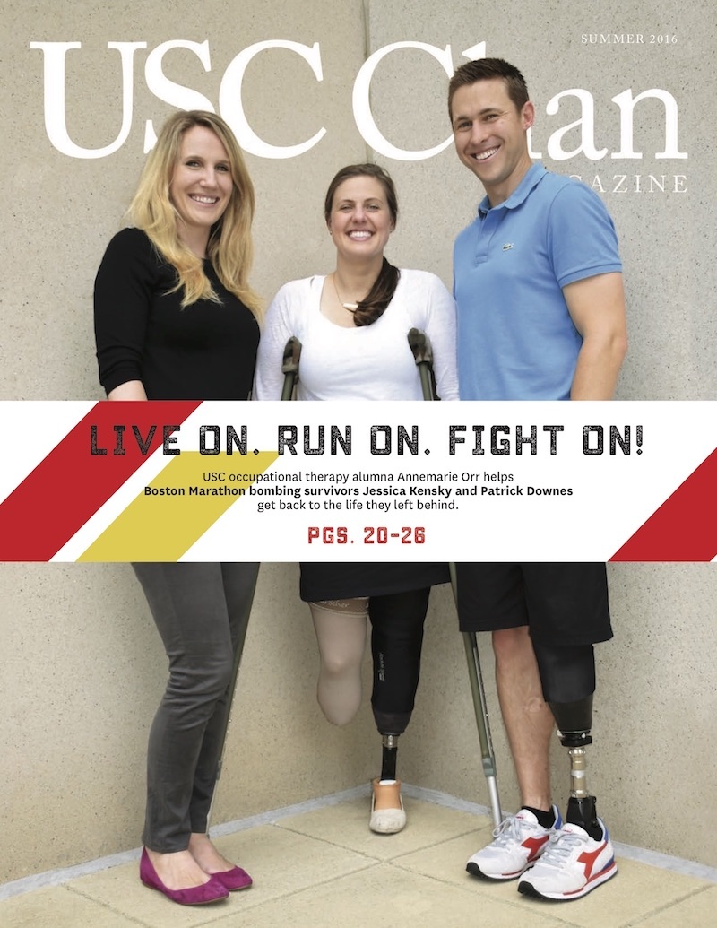 "usc occupational therapy essay Usc occupational therapy's chapter of pi theta epsilon sponsored the occupational therapy research day on march 28 to showcase current research being conducted in the division ""this was an."