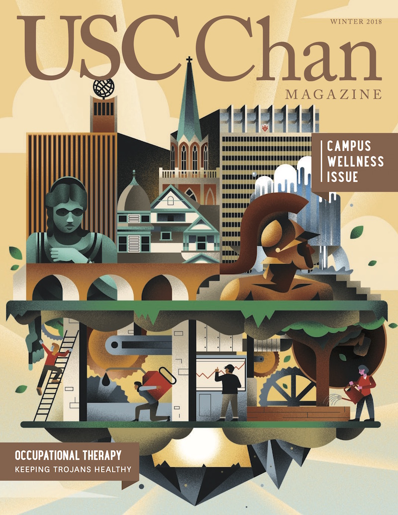 USC Chan Magazine, Winter2018