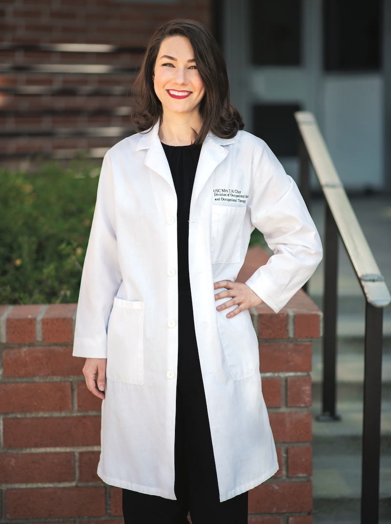Assistant Clinical Professor Ashley Halle MA '11, OTD '12 | Photo by Hannah Benet