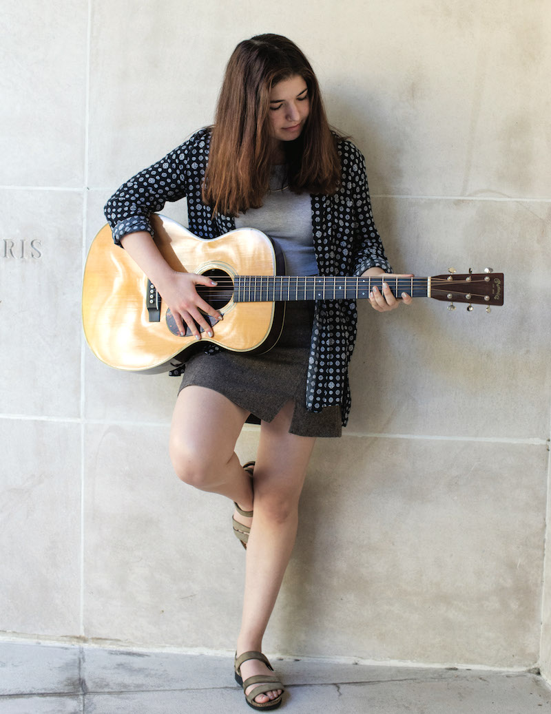 Emma Collins '21 | Photo by Christina Gandolfo