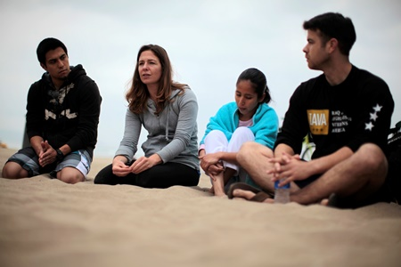 Carly Rogers Surfing Program for Veterans