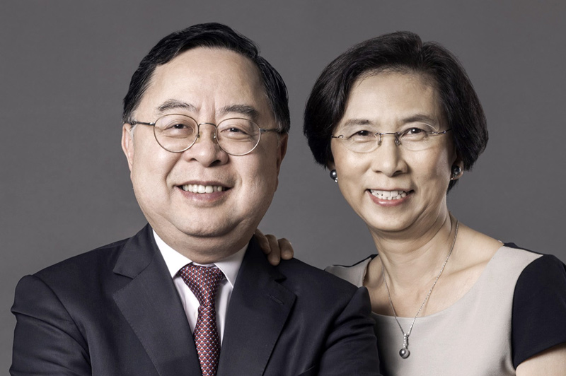 USC Trustee Ronnie Chan and wife, Barbara