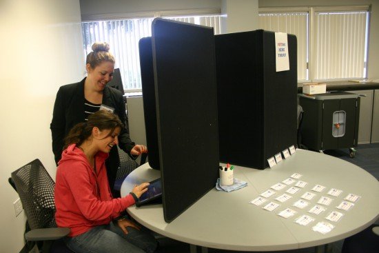 USC OTSC Voting Booth