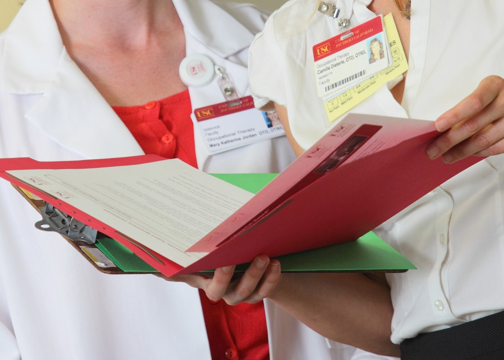 Paper medical records