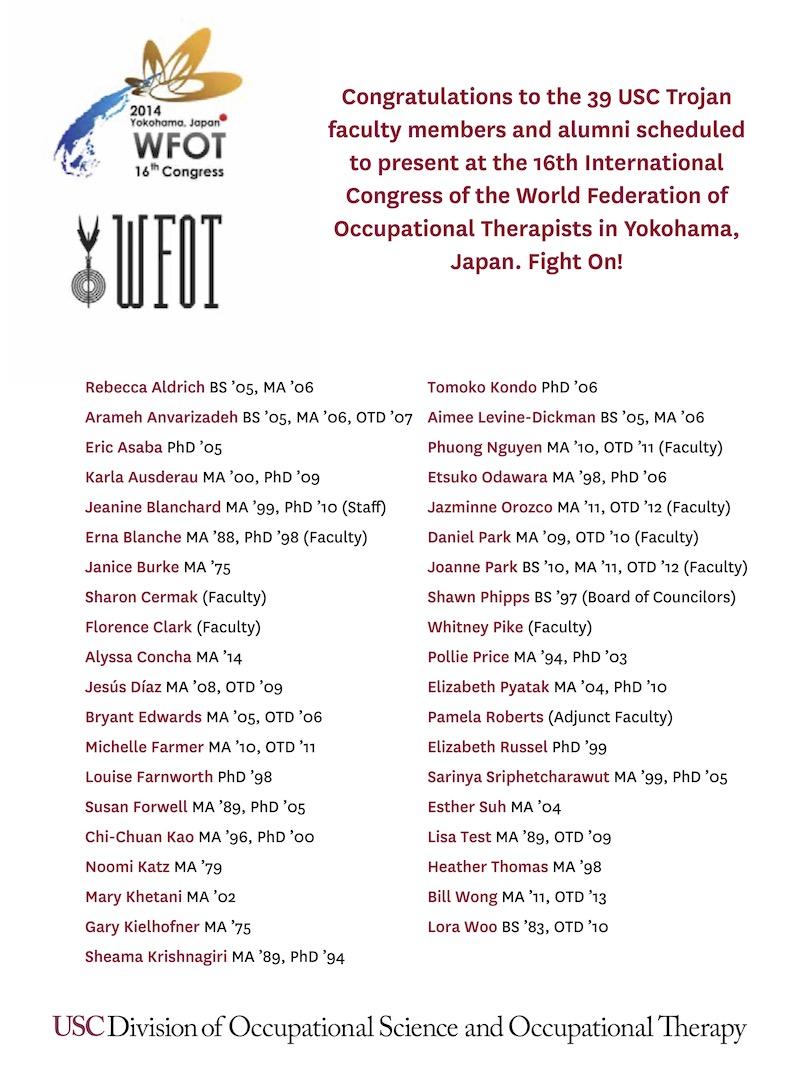 2014 International Congress of WFOT