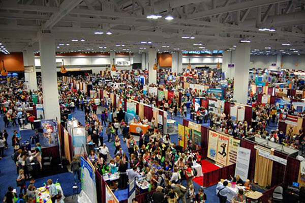 Exhibit Hall at 2016 AOTA Conference