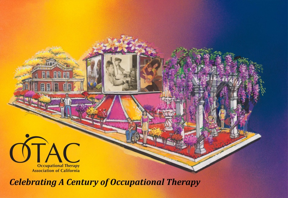 Float rendering courtesy of the Occupational Therapy Association of California/Fiesta Floats