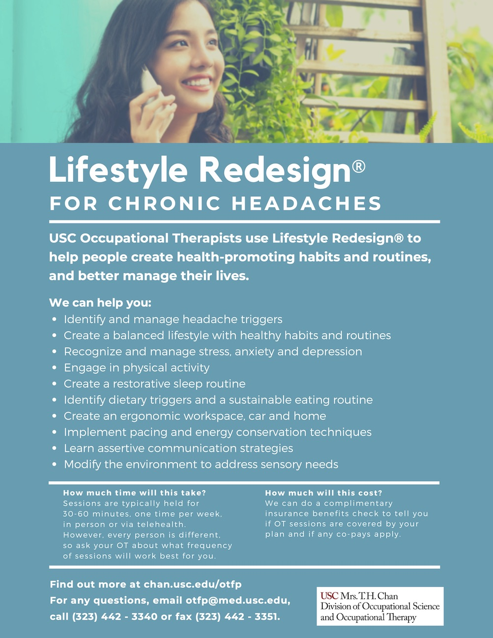Lifestyle Redesign for Chronic Headaches