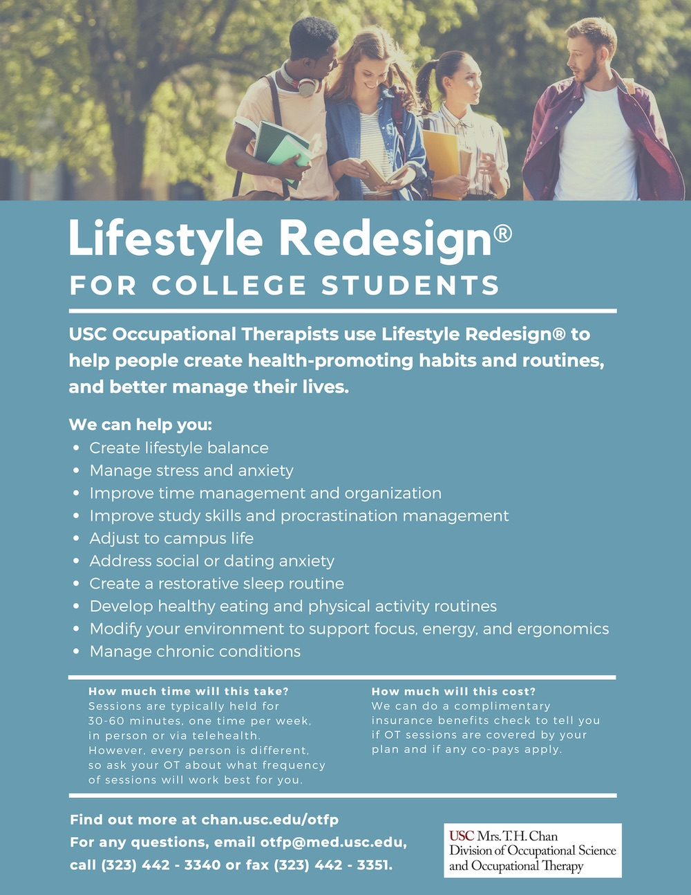 Lifestyle Redesign for College Students