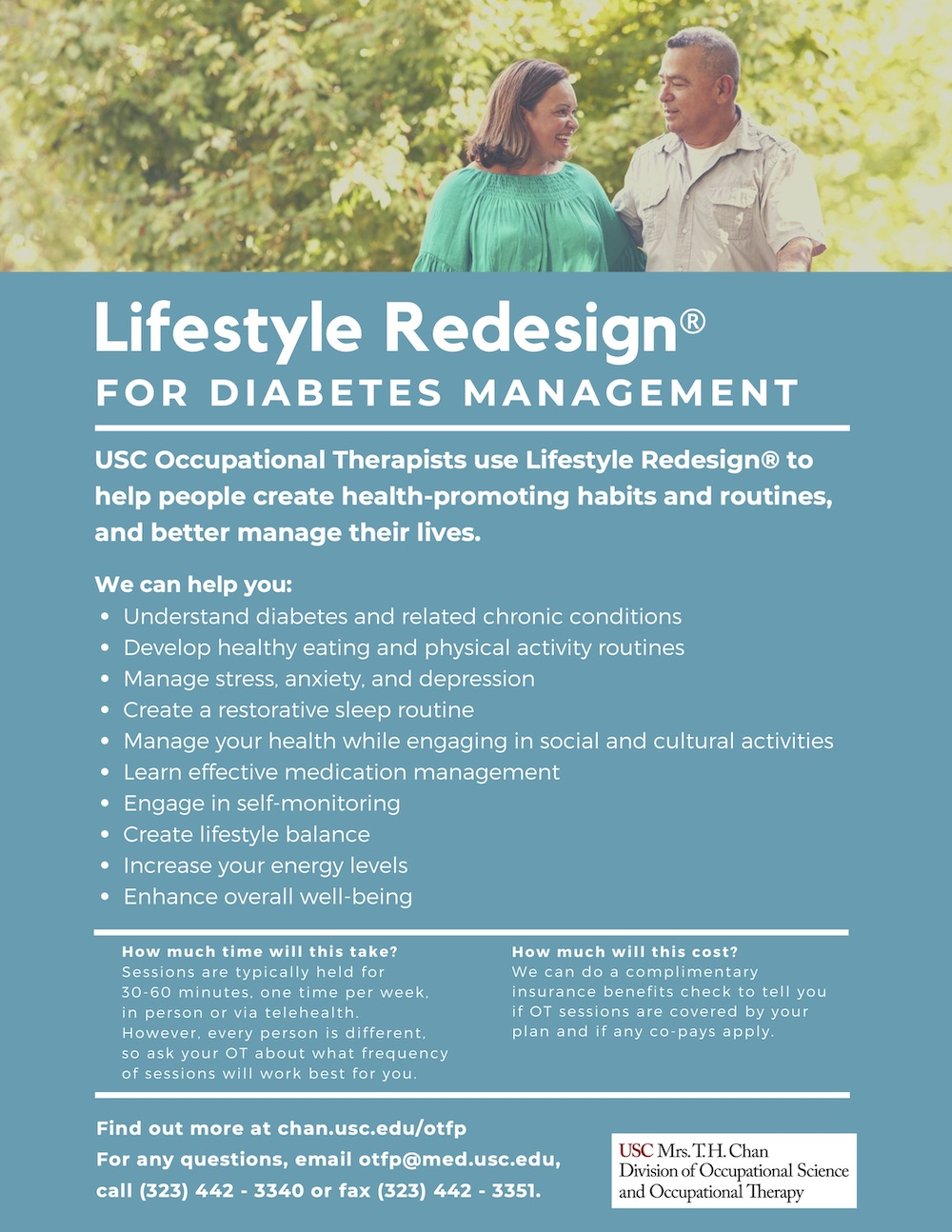 Lifestyle Redesign for Diabetes Management