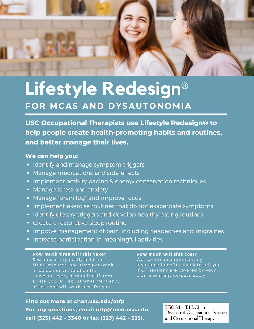 Lifestyle Redesign for MCAS and Dysautonomia