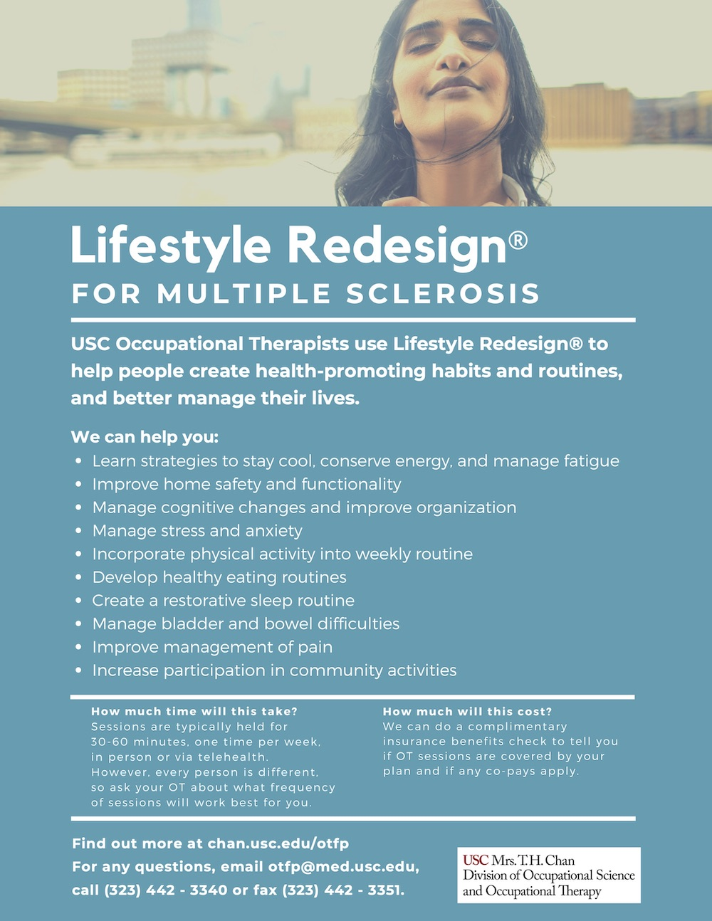 Lifestyle Redesign for Multiple Sclerosis