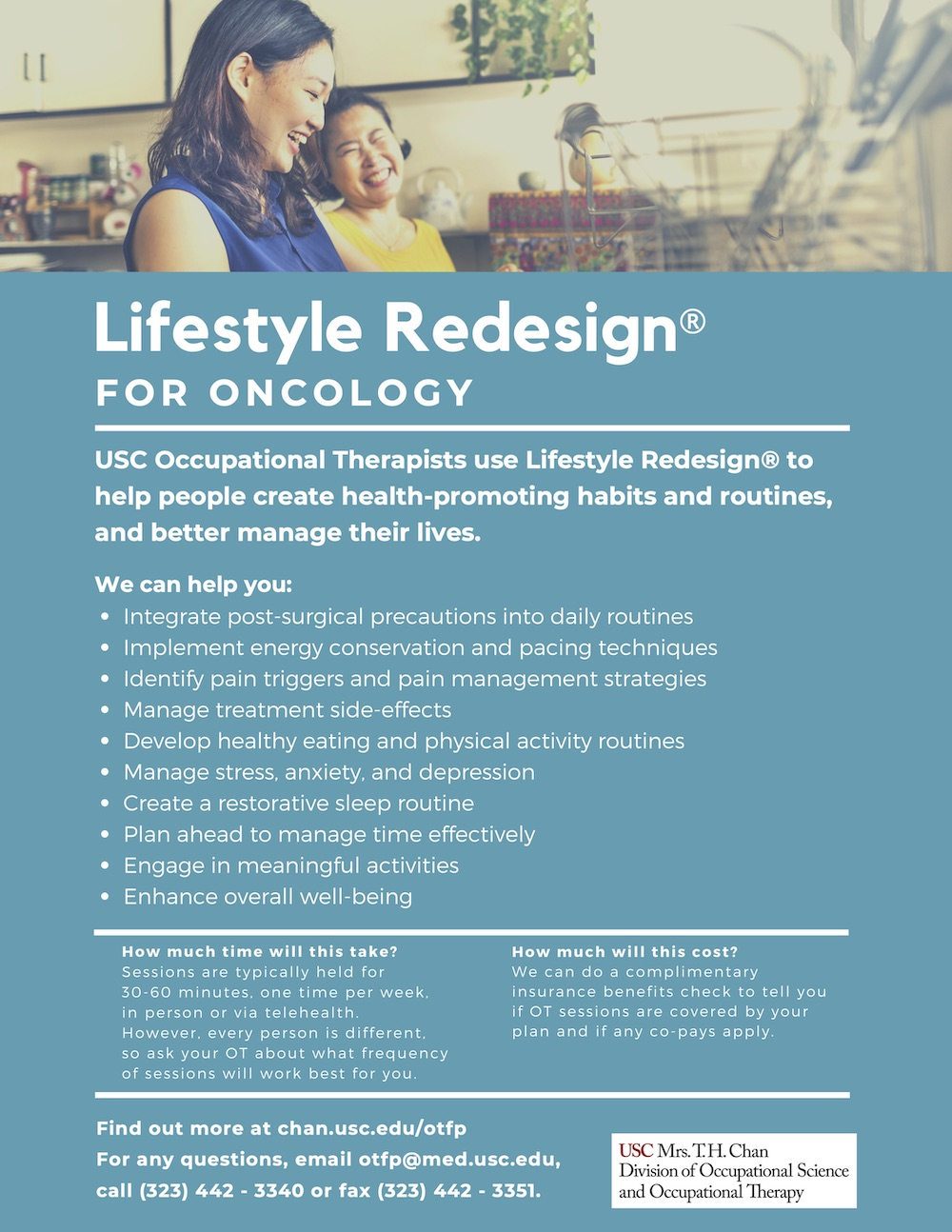 Lifestyle Redesign for Oncology