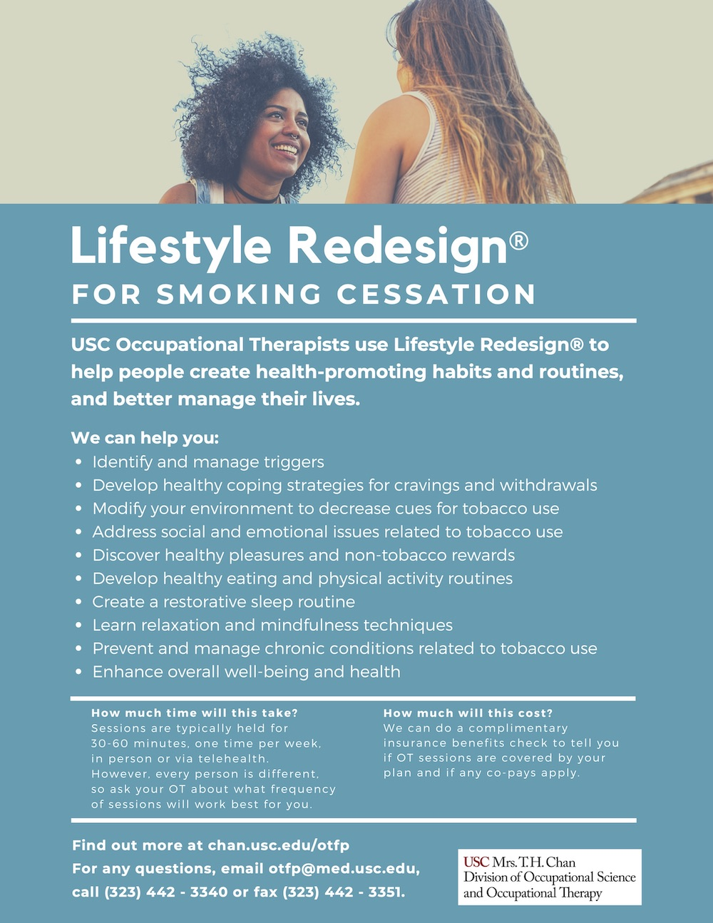 Lifestyle Redesign for Smoking Cessation