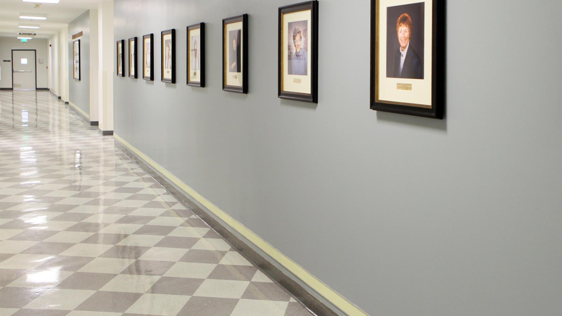 Zoom Background CHP hallway