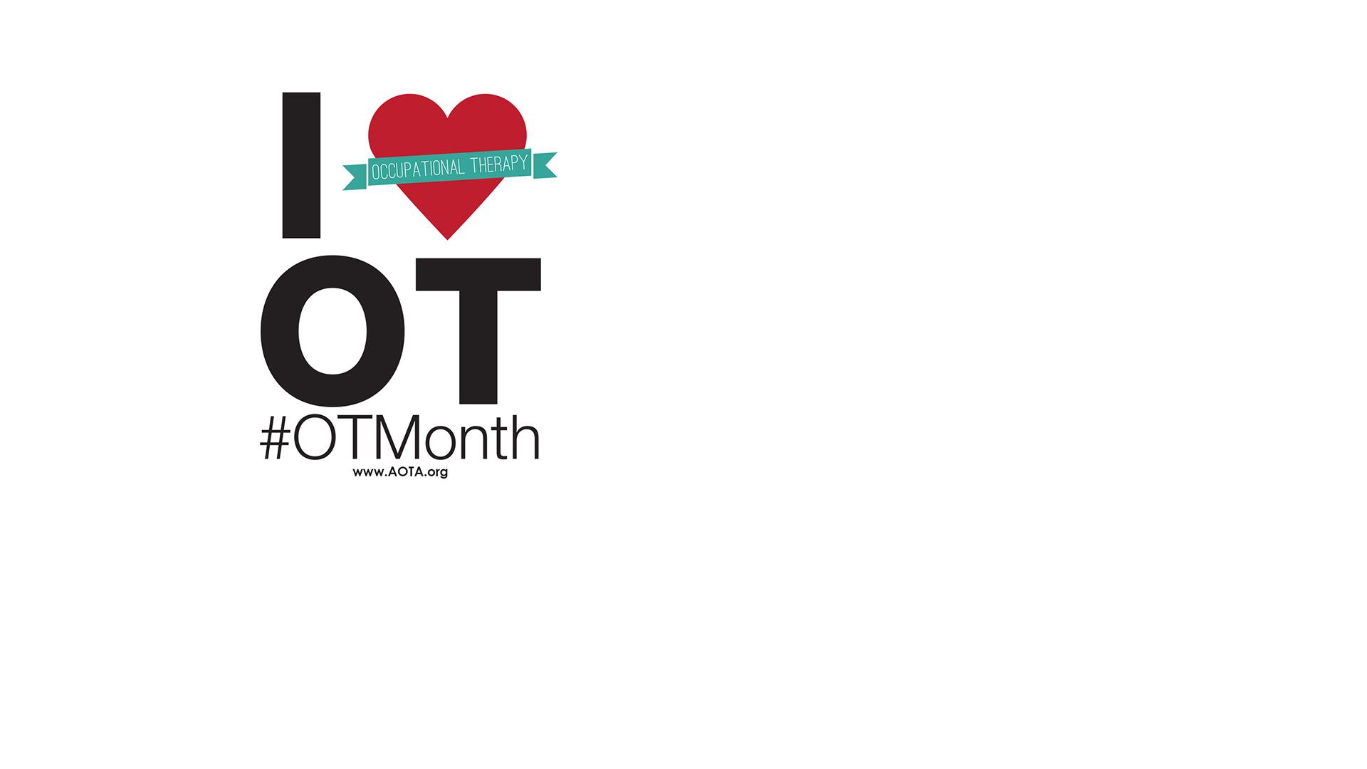 Zoom Background OT month I heart OT