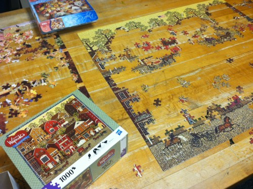 Puzzleactivitywithvets