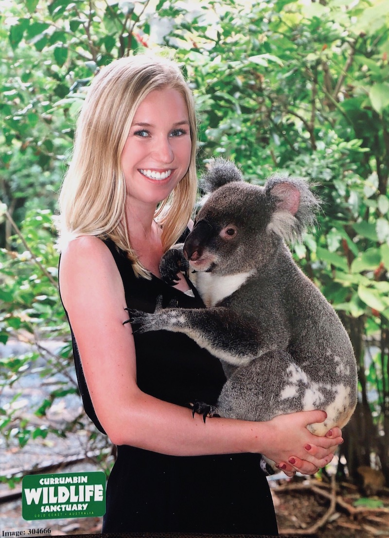Meeting one of my favorite animals at Currumbin Wildlife Sanctuary