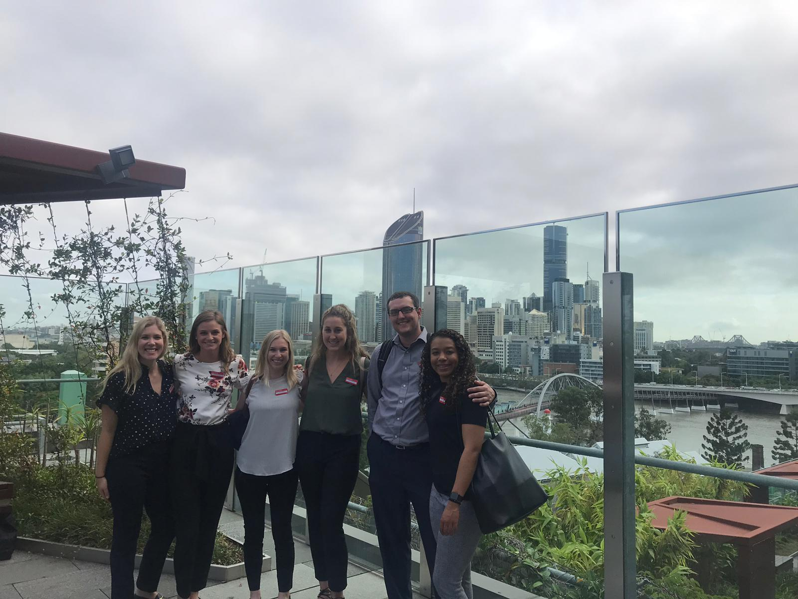 Visiting Queensland Children's Hospital's therapy rooftop