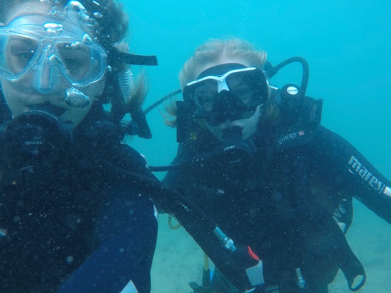Scuba diving in Gold Coast