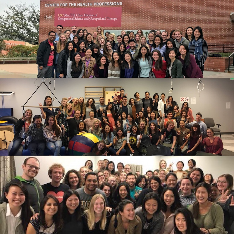 Cohort B in Fall 2017, Spring 2018, and Fall 2018