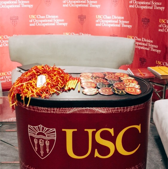 USC Booth at Exhibit Hall
