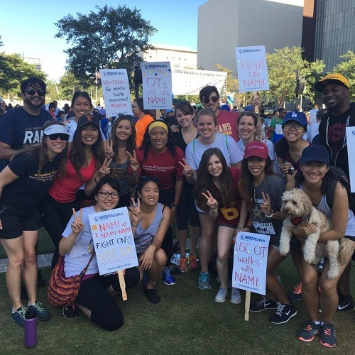 USC OTs Fight On for NAMI!