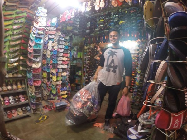 Buying Flip Flops to be donated