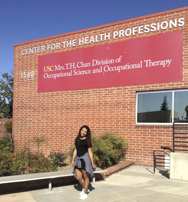 After receiving my acceptance letter, I quickly drove down to the Health Science Campus to take a picture in front of my dream OT school… and a year later, it still feels like a dream!